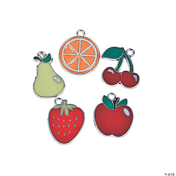 Fruit Enamel Charms