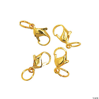 Small Goldtone Lobster Clasps