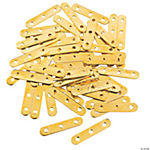 Goldtone Triple Strand Bars