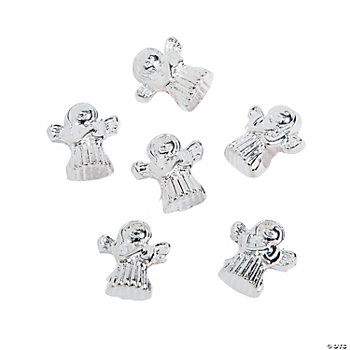 Angel Large Hole Beads - 14mm