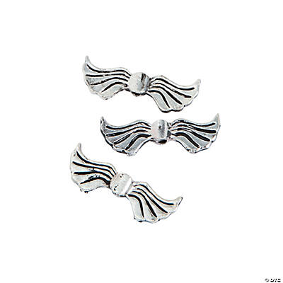 Angel Wing Beads - 20mm
