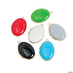 Colorful Locket Assortment