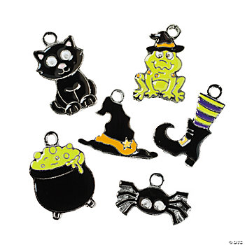 Witch Enamel Charms