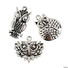 Realistic Owl Charms