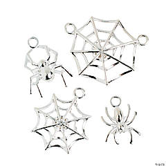 Spider & Spiderweb Charms