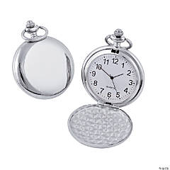 Silvertone Pocket Watch