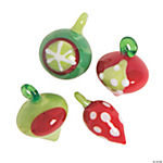 Ornament Inspired Lampwork Beads - 10mm - 18mm x 20mm