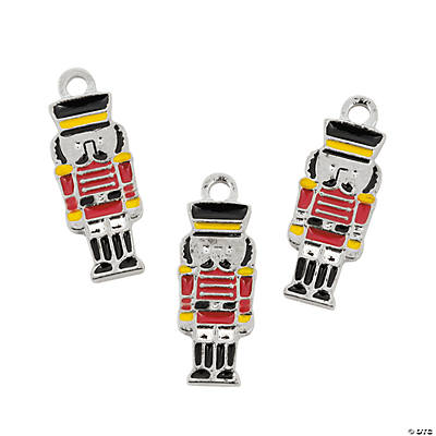Nutcracker Enamel Charms