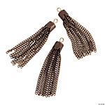 Antique Goldtone Tassel Charms