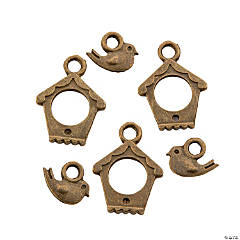 Birdhouse Toggle Clasps