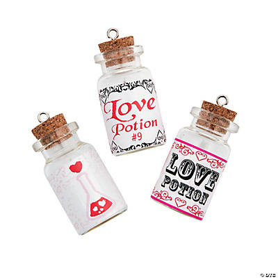 Love Potion Bottle Charms