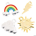 Weather Enamel Charms