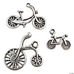 Silvertone Bicycle Charms