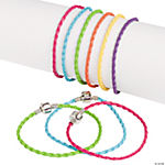 Colorful Large Hole Braided Bracelets