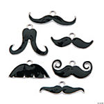 Mustache Charm Assortment