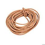 Tan Leather Cording