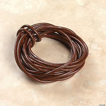 Brown Leather Cording
