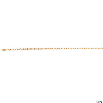 Goldtone Oval Linked Chain