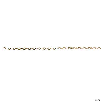 Antique Goldtone Oval Linked Chain