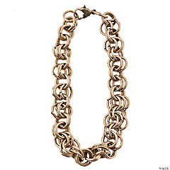 Antique Goldtone Multi-Ringed Chain Bracelets