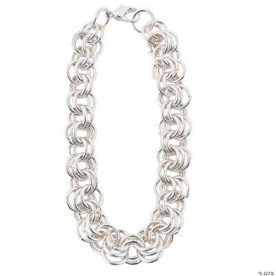 Silvertone Multi-Ringed Chain Bracelets