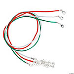 Christmas Cord Necklaces