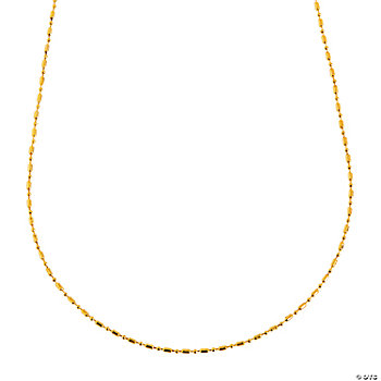 Goldtone Delicate Necklace Chains