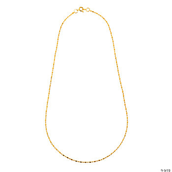 Goldtone Delicate Ball Chain Necklaces