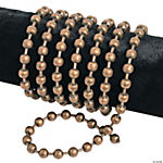 Antique Goldtone Large Ball Chain