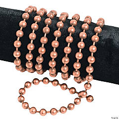 Antique Copper-Tone Large Ball Chain