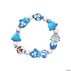 Holiday Glass Lampwork Bracelet Kit
