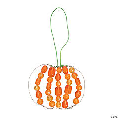 Beaded Pumpkin Ornament Kit