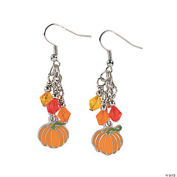 Pumpkin Dangle Earring Kit