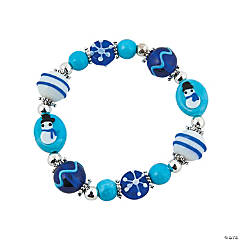 Lampwork Winter Bracelet Kit