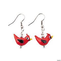 Red Cardinal Earring Kit