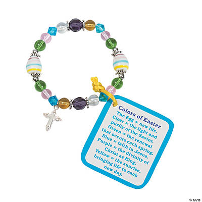 Colors of Easter Bracelet Kit with Card