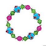 Tropical Flower Lampwork Bracelet Kit