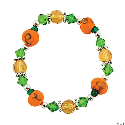 Fall Pumpkin Bracelet Kit