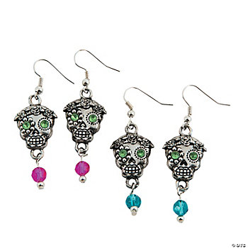 Day Of The Dead Skull Earring Kit