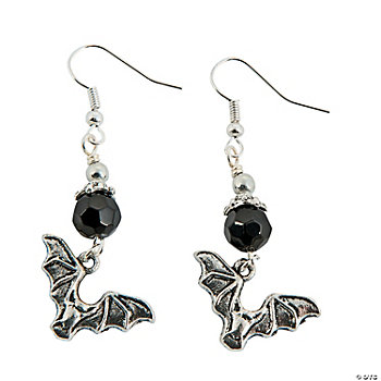 Black Bat Earring Kit