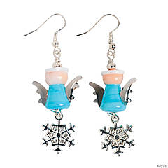 Winter Angel Lampwork Earring Kit