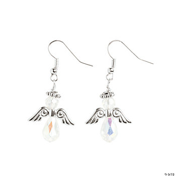 Crystal Angel Earrings Kit