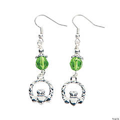 Claddagh Beaded Earrings Kit