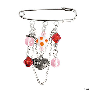 Valentine Beaded Pins Kit