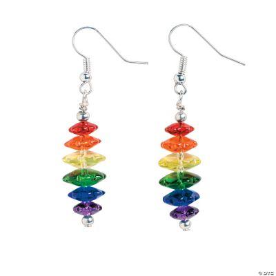 Rainbow Dangle Earrings Craft Kit