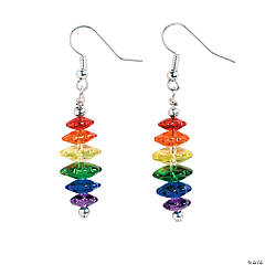 Rainbow Dangle Earrings Craft Kit