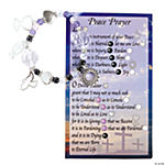 """Peace Prayer"" Bracelet With Card Kit"