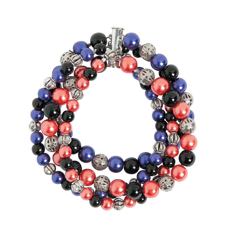 basic silvertone metal bead assortment trading