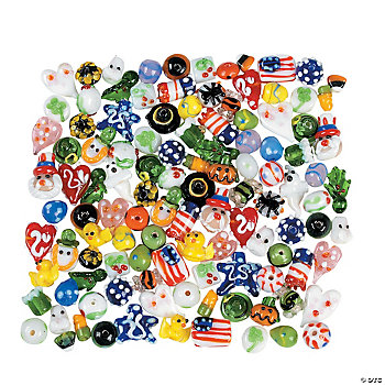 Holiday Celebration Bead Assortment - 3mm-19mm