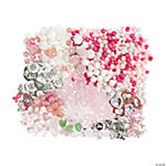 Pink Ribbon Bead & Charm Assortment
